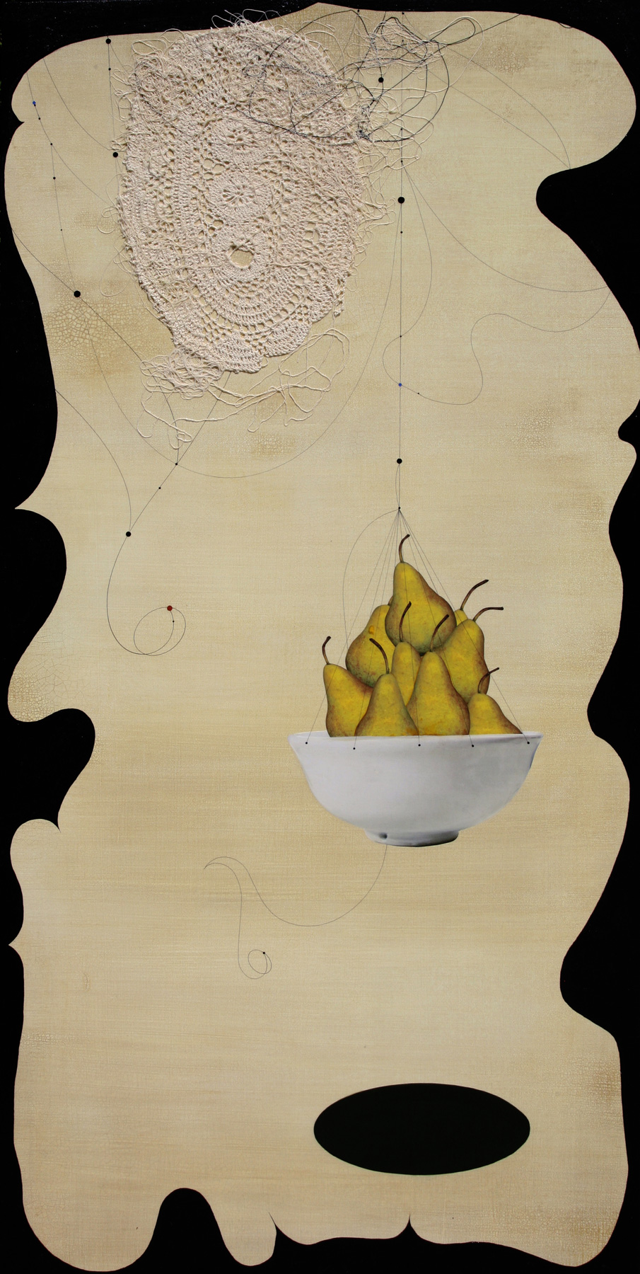 Pears and Doily