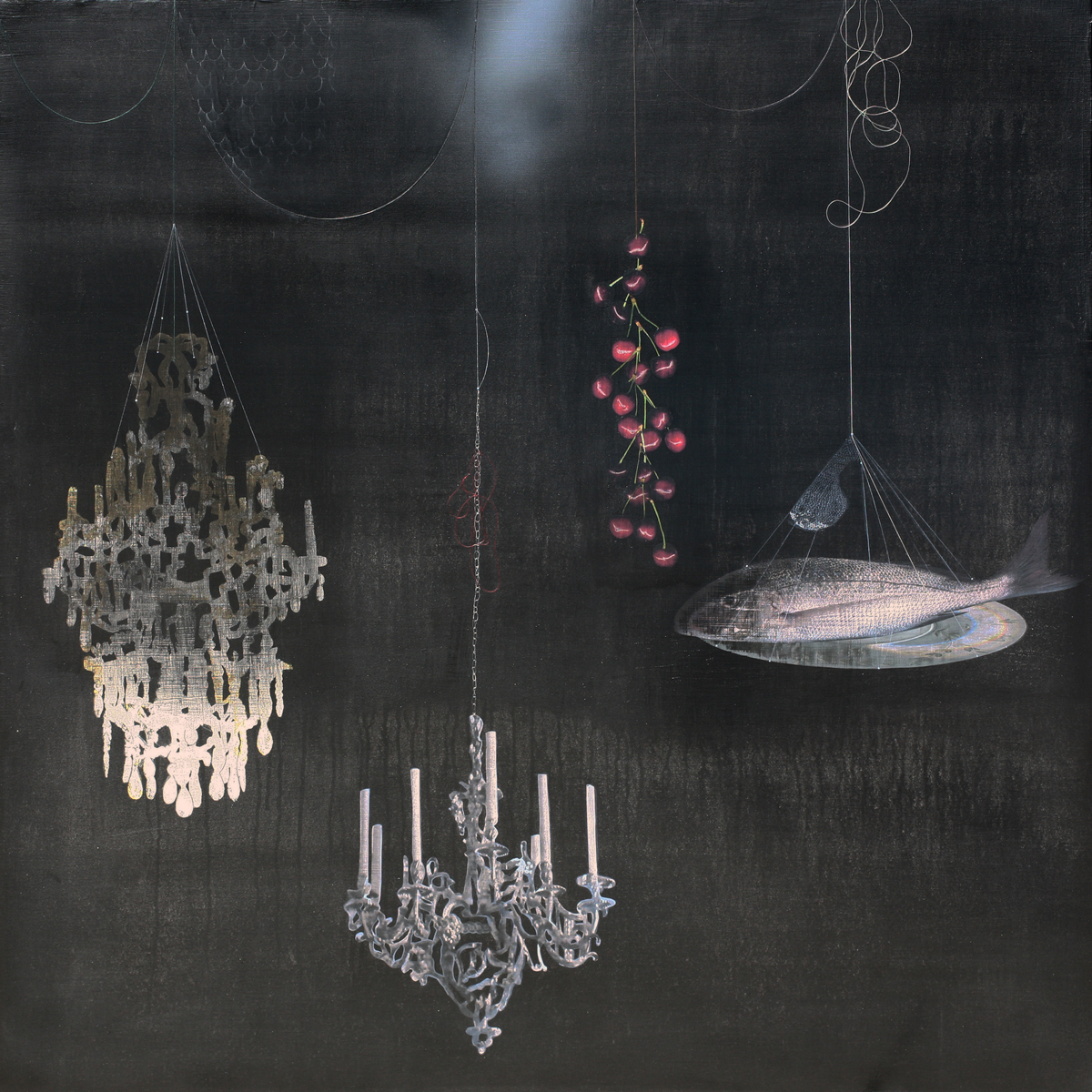 Fish and Chandelier #101