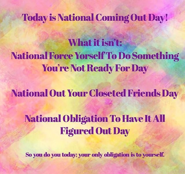 #nationalcomingoutday #lgbtqyouth #socialworkersrock #goodmentalhealth #lgbtq+ #counseling #therapy #selfworth #therapyiscool #lgbtqtherapist #poctherapist
