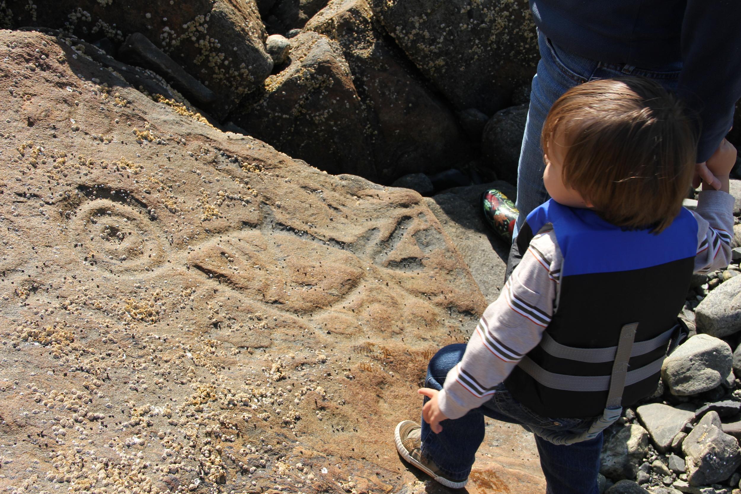 Southeast Alaska Petroglyphs