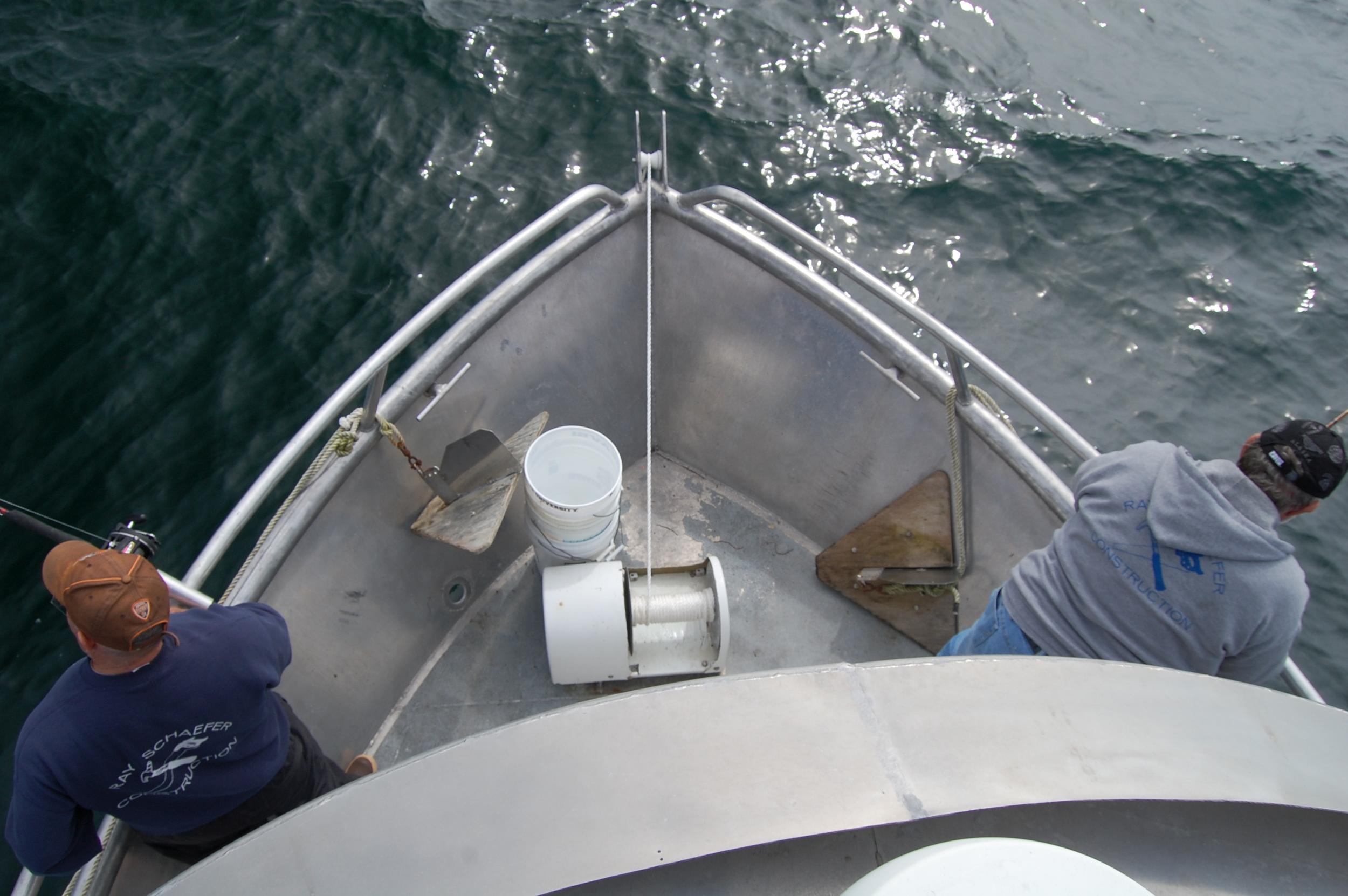 Alaska Charter boat walk around Cabin