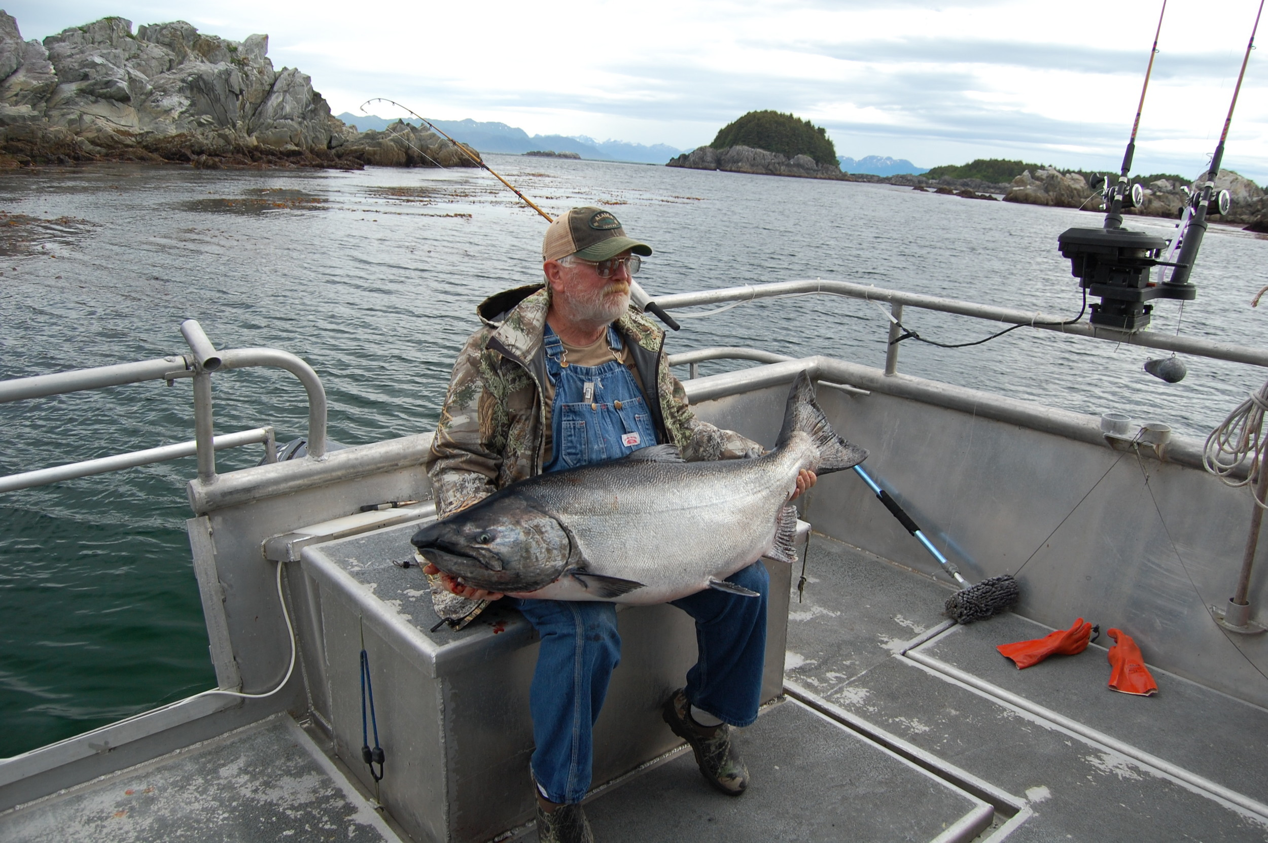 Southeast Alaska King Salmon Fishing