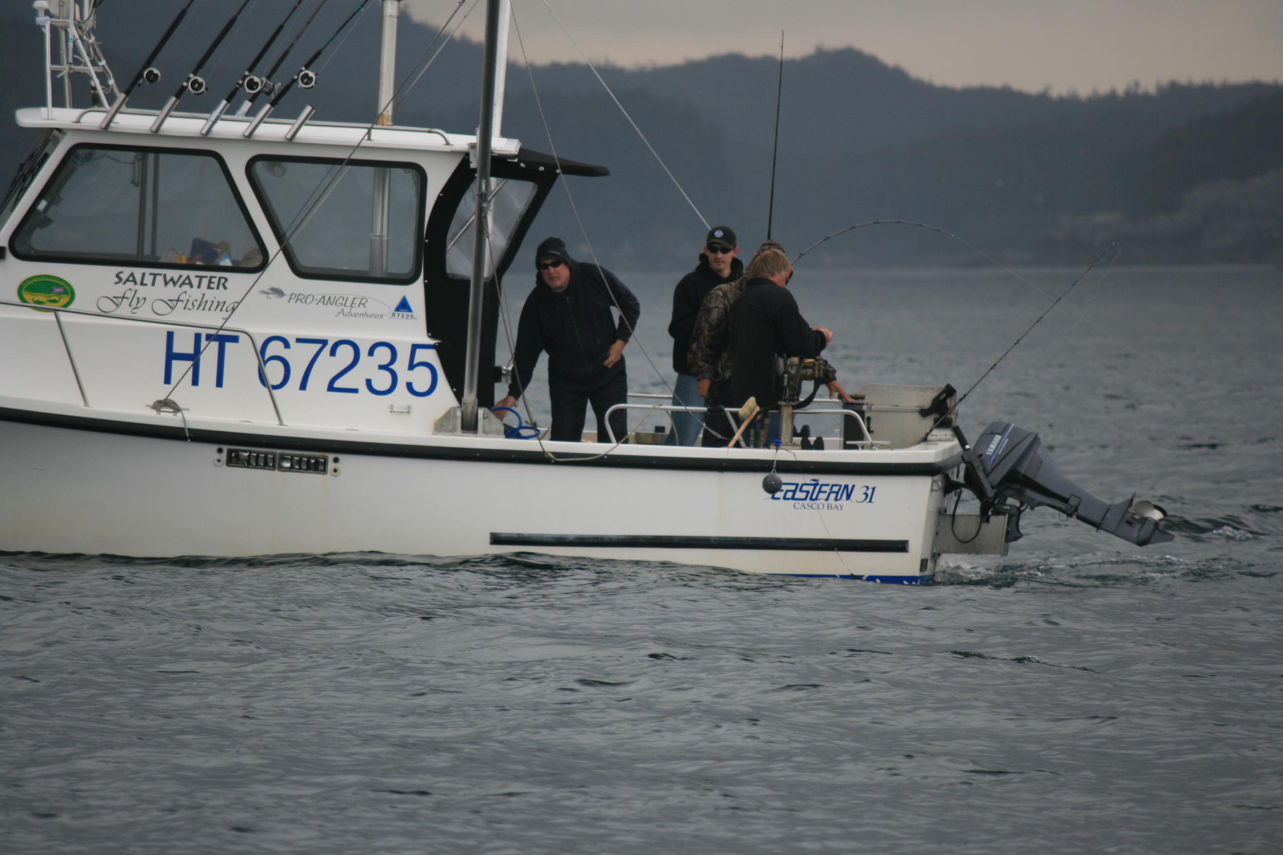 Southeast Alaska Charter Fishing Vessel
