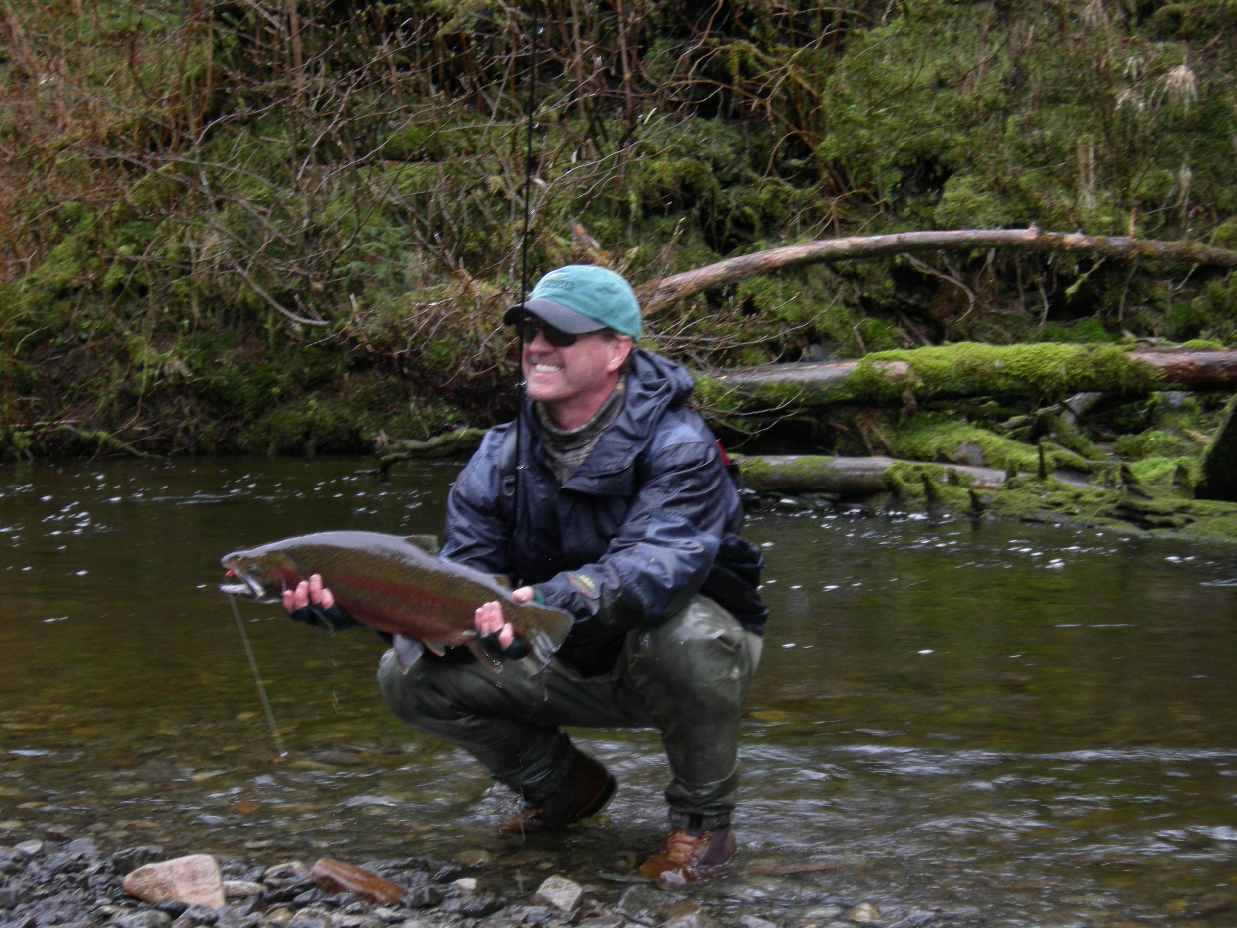 A nice Alaskan rainbow trout
