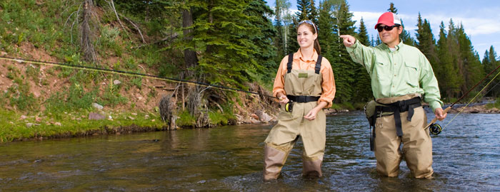 fly fishing guide