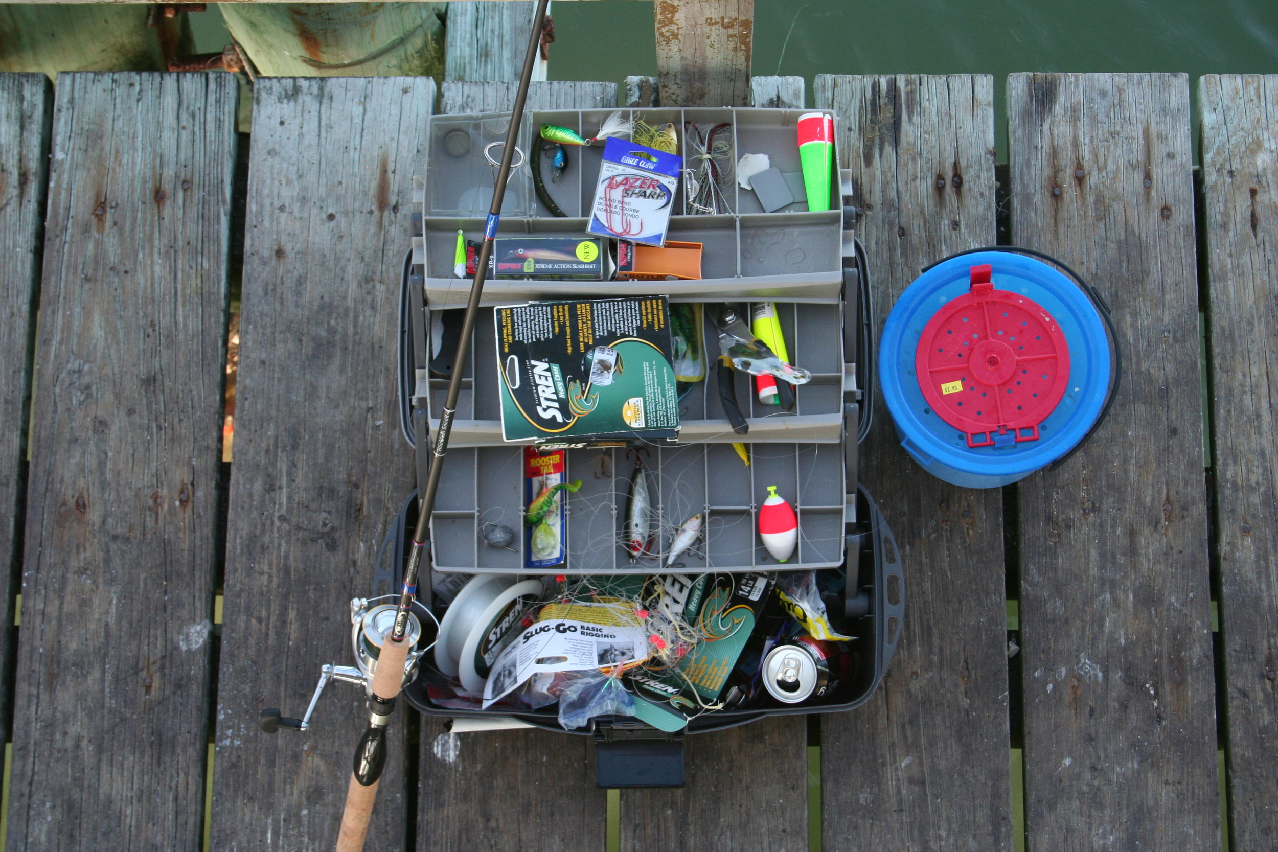simple fishing gear