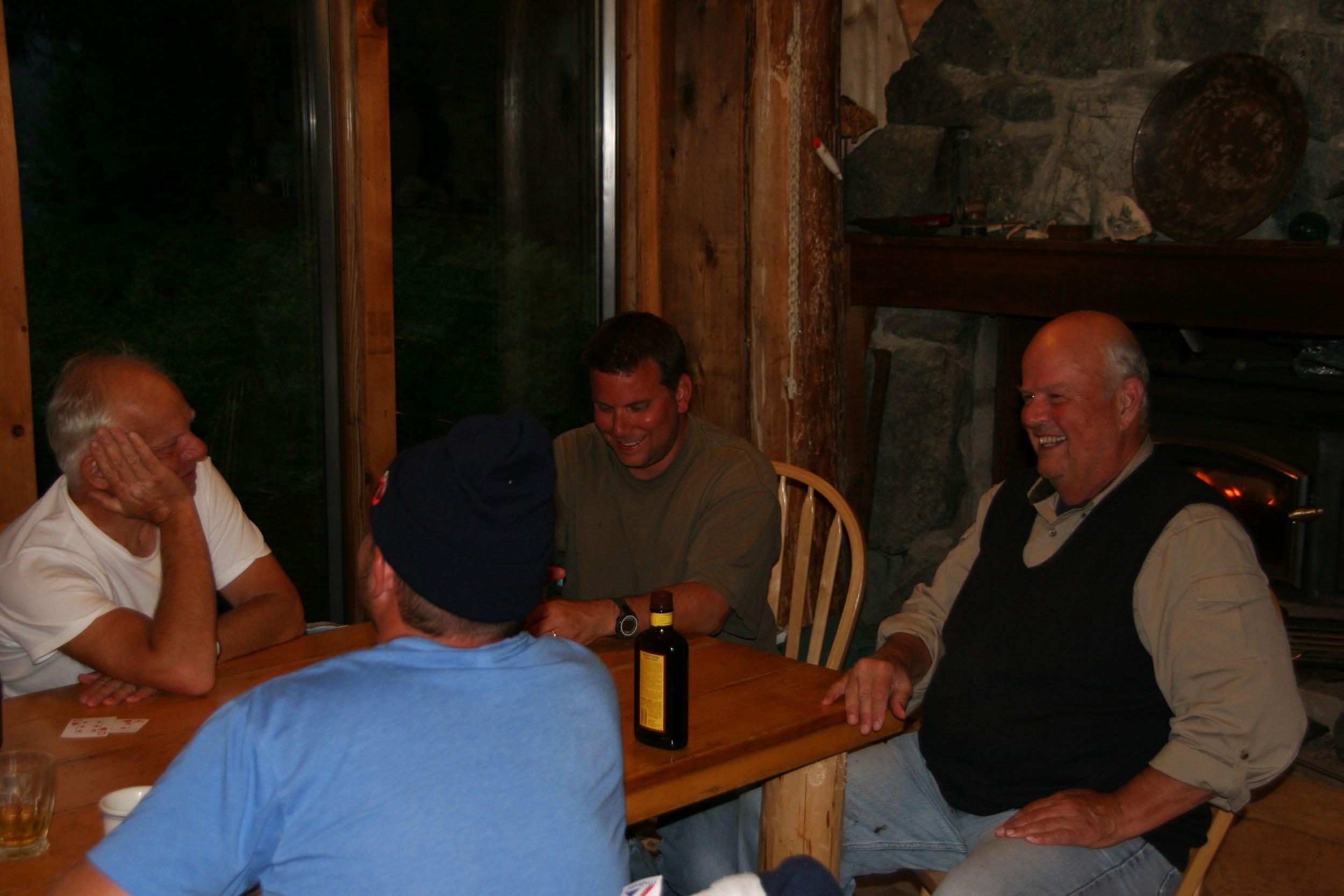 Lisianski Inlet Lodge dinning room