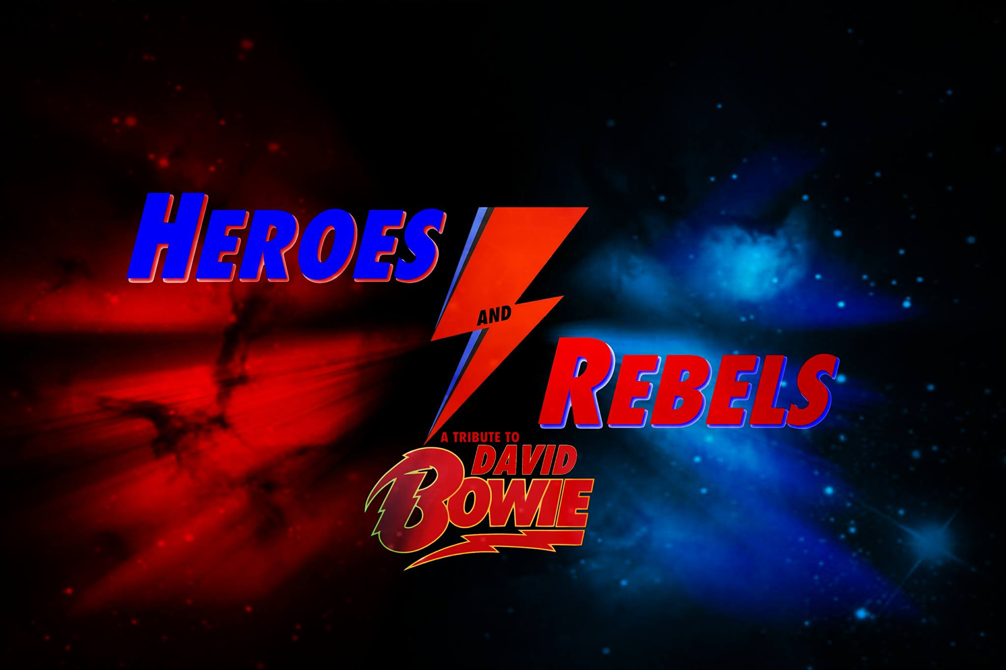 heroes and rebels bowie tribute show