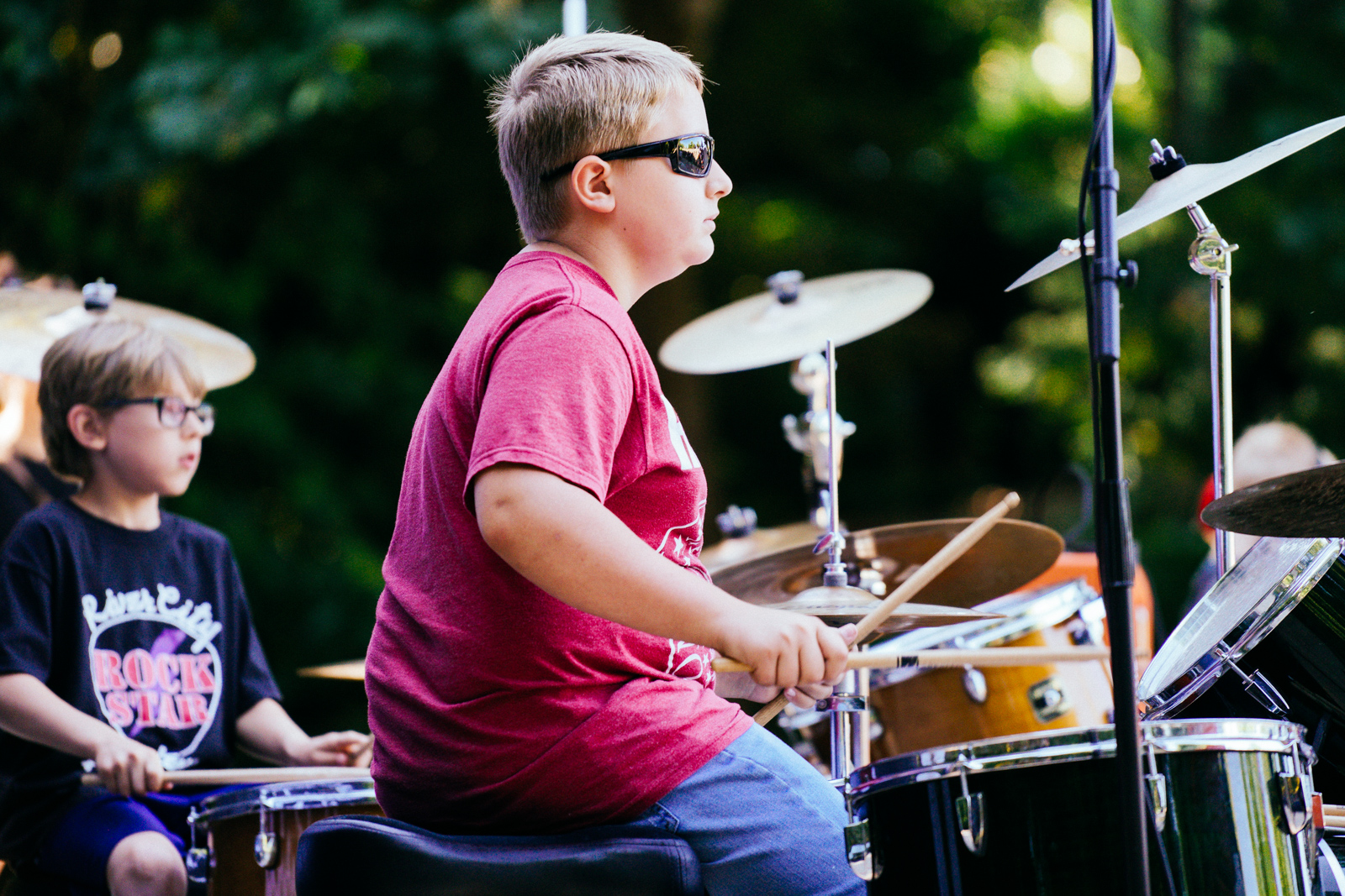Young Rockers is for beginning music students ages 8-12. We make music education fun.