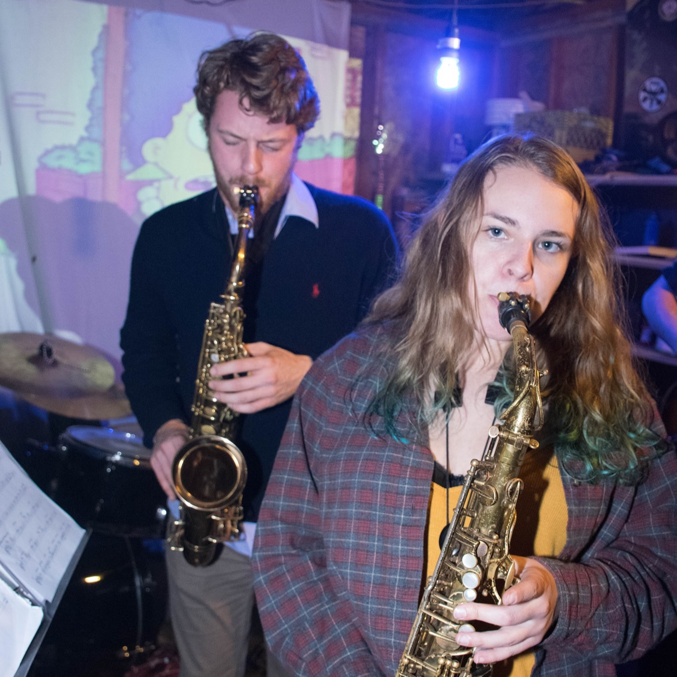 Saxophone Lessons - We work with beginners to advanced saxophone players. All styles of music from school band, jazz, rock, blues, pop, and more.