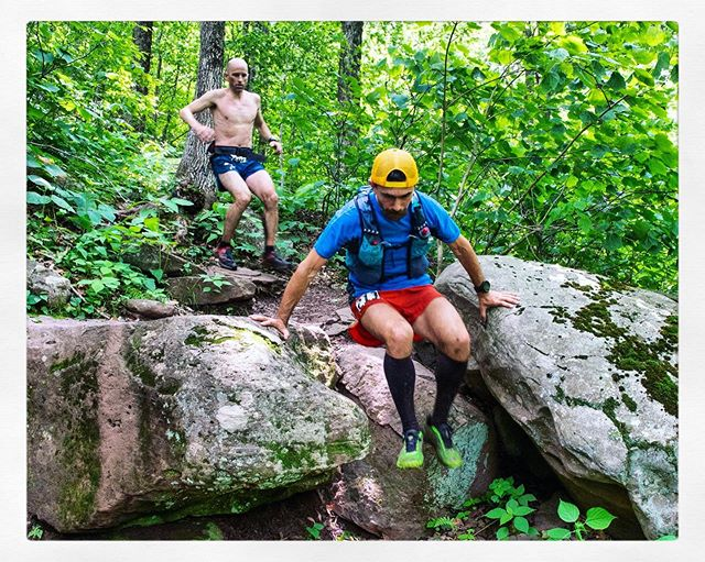 If you keep your center of gravity low and your movements fluid, 54 miles of scrambling and rock hopping go by quicker.. Quick enough for 2nd place! Congrats to our very own Andy Pearson at Manitou's Revenge!