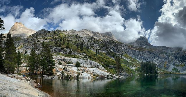 Hamilton Lake: when you're here, your family is proud of you.  #highsierratrail