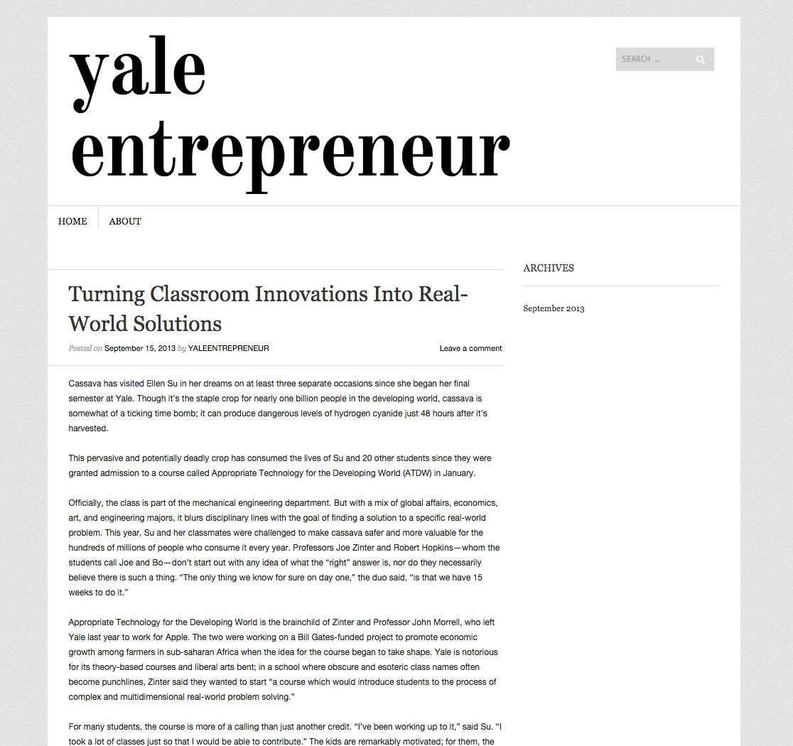 Turning Classroom Innovations Into Real-World Solutions