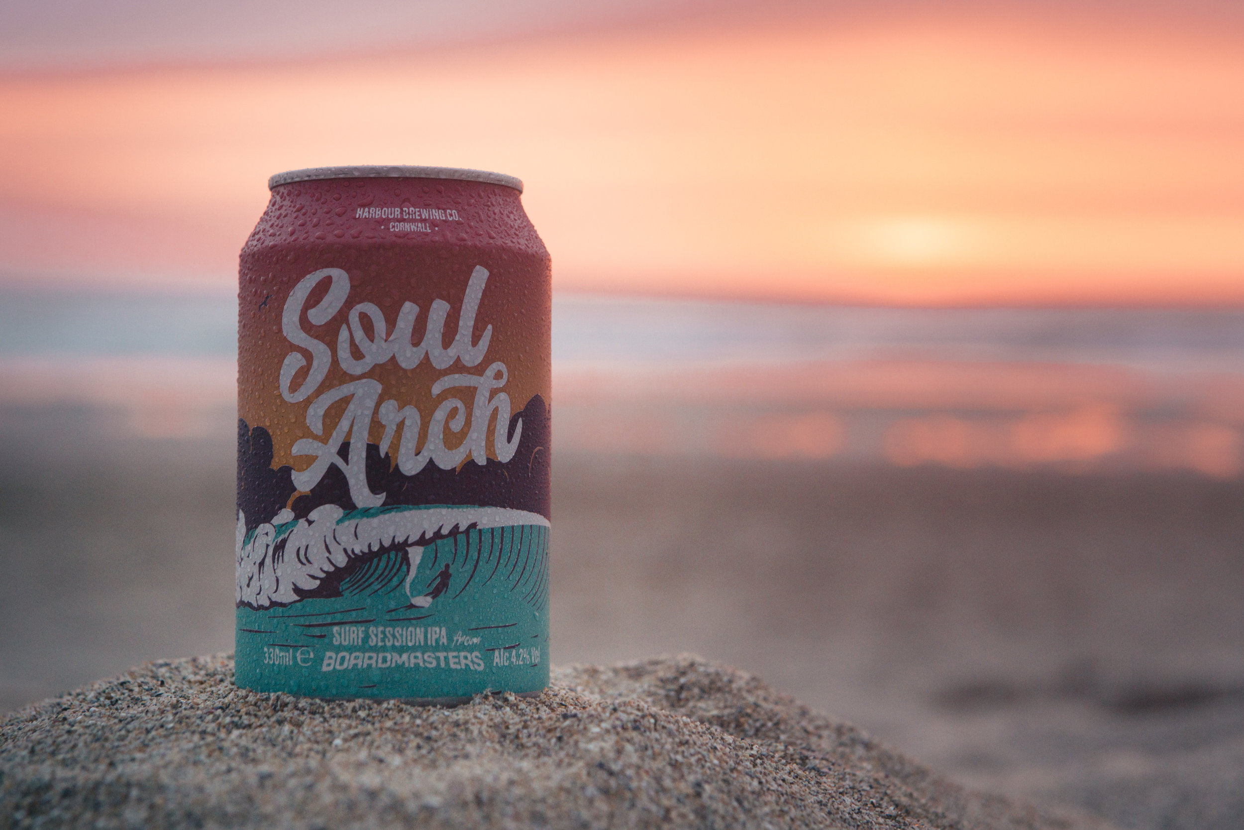 Proud to have overseen the creation of the first ever Boardmasters beer: Soul Arch. Brewed by Harbour and designed by the talented folk at A-Side Studio. Looking forward to seeing it on sale in the build up to the festival.