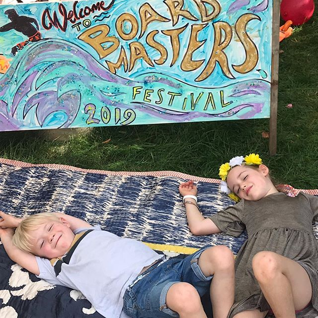 So sad to see @boardmasters 2019 cancelled after so much hard work from the amazing team at @vision_nine / The kids put on a mini London version of Boardies to represent and keep the dream alive. Here's to the Cornish version 2020! X