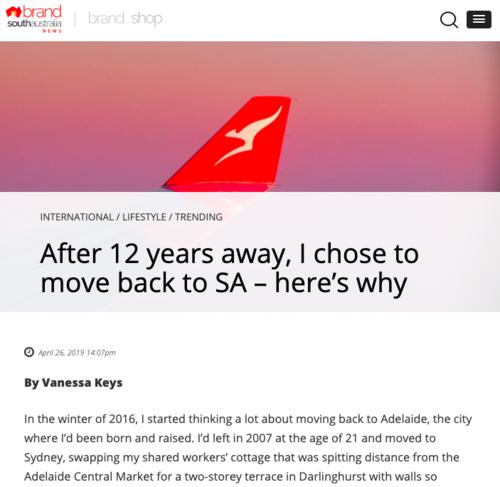 ed47da4193 Food and travel – Adelaide journalist — VANESSA KEYS