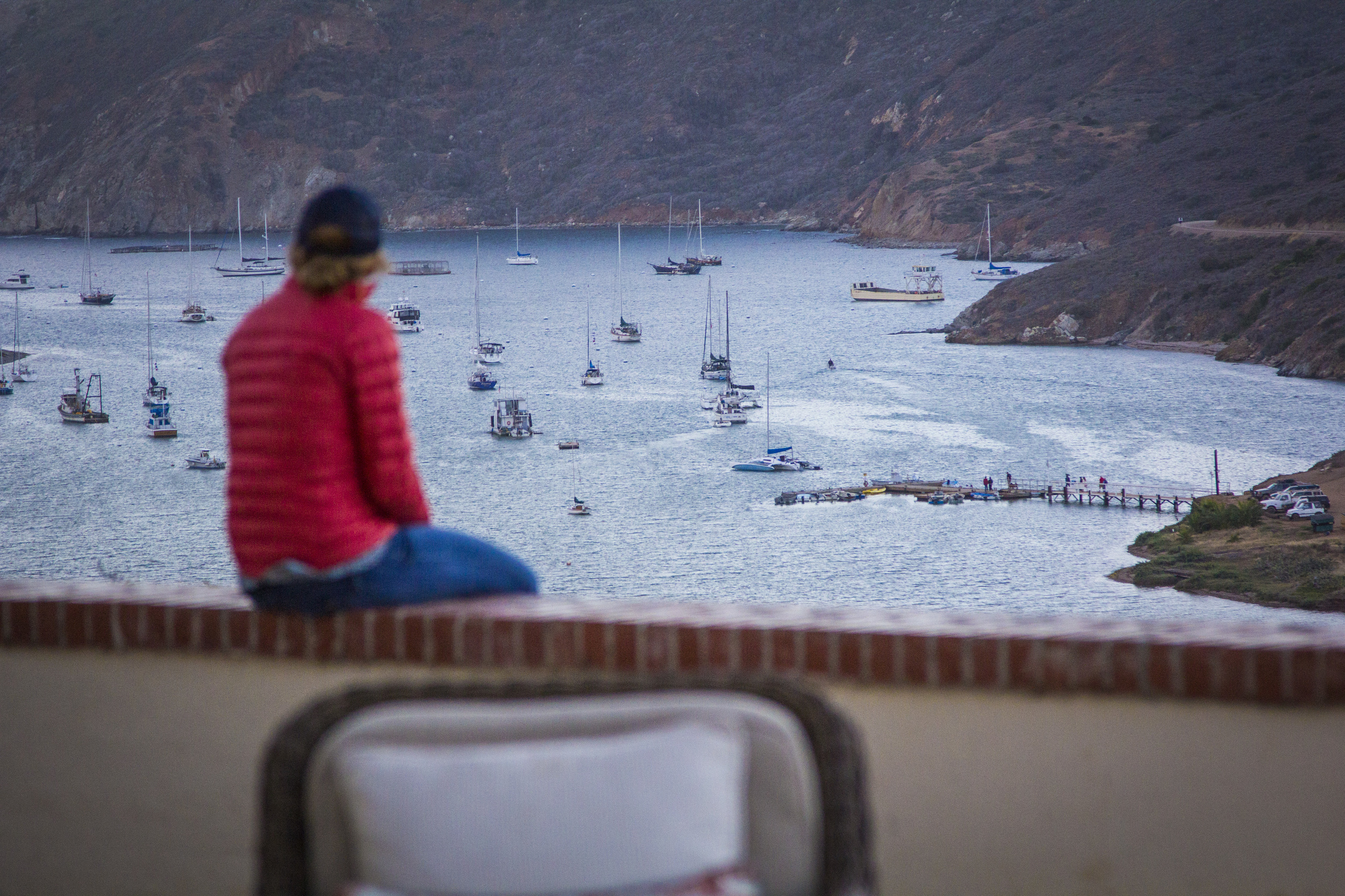 Overlooking Isthmus Bay. Photo Credit: Michael Auffant