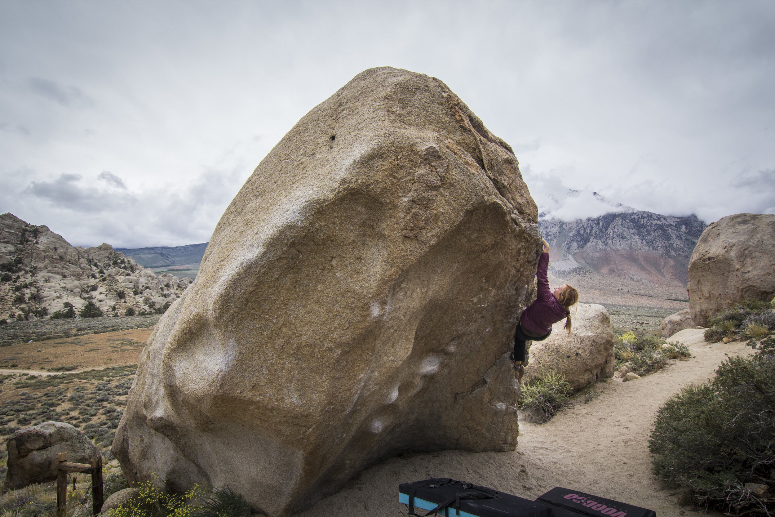 Hero Roof, V0+, Photo by Michael Auffant