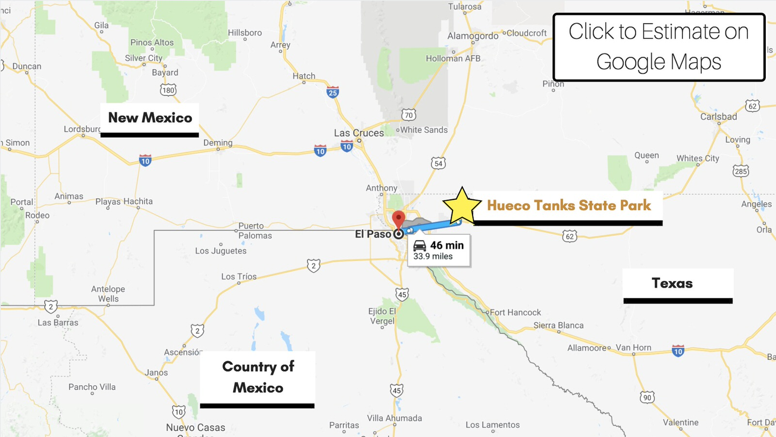 location-map-hueco-tanks-state-park