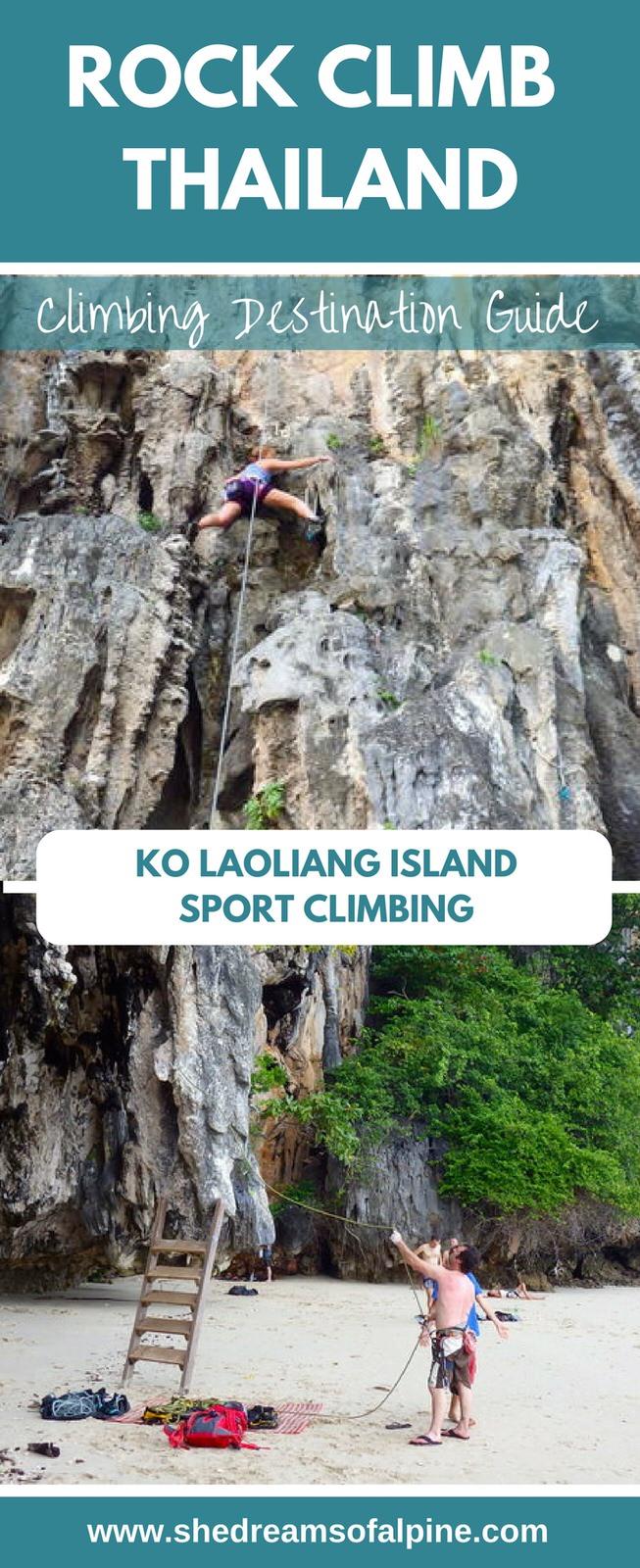 Climbing Destination Guide   Rock Climbing Ko LaoLiang in Thailand