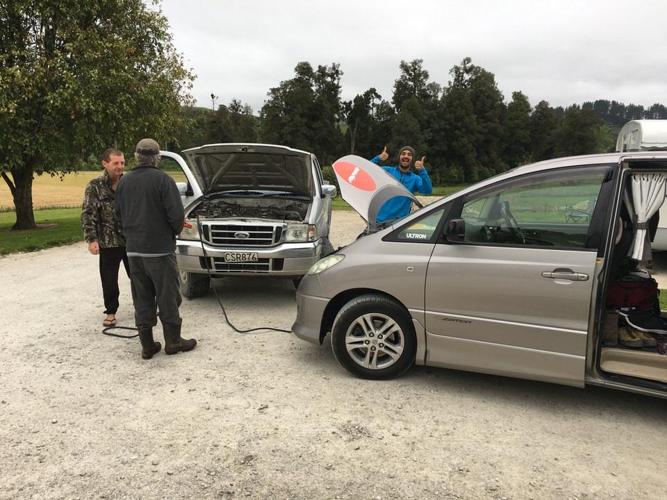 getting-car-jumped-waitomo-new-zealand-north-island
