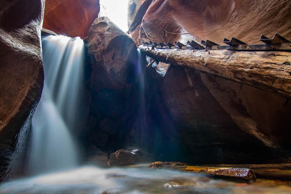 Kanarra Falls.