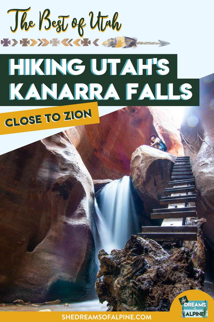 Hiking Kanarra Falls in Utah Near Zion National Park
