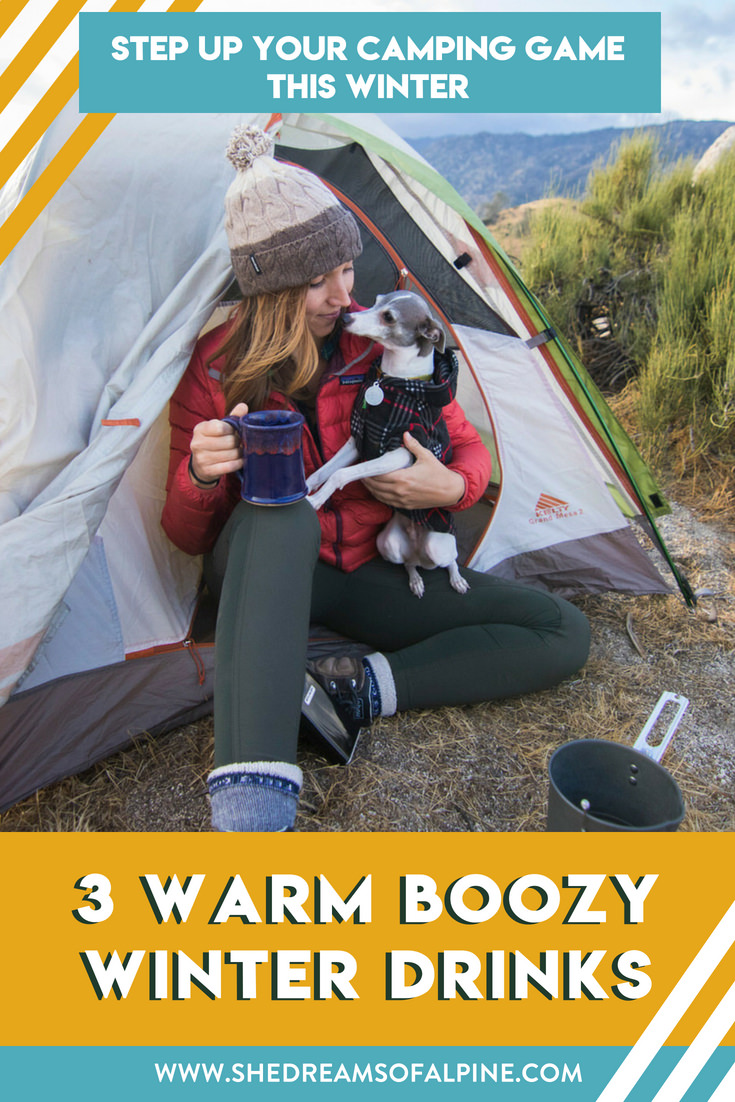 3 Delicious Boozy Warm Winter Drinks to Make on Your Next Outdoor Adventure