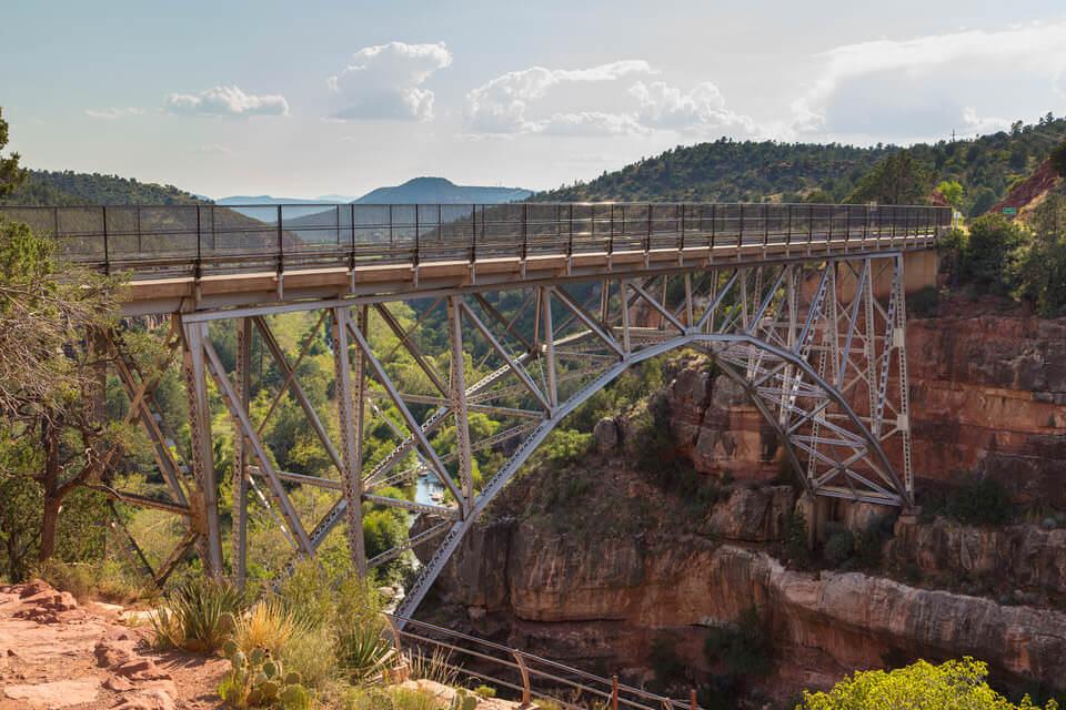 Midgley Bridge on the Wilson Canyon Trail in Sedona, Az.