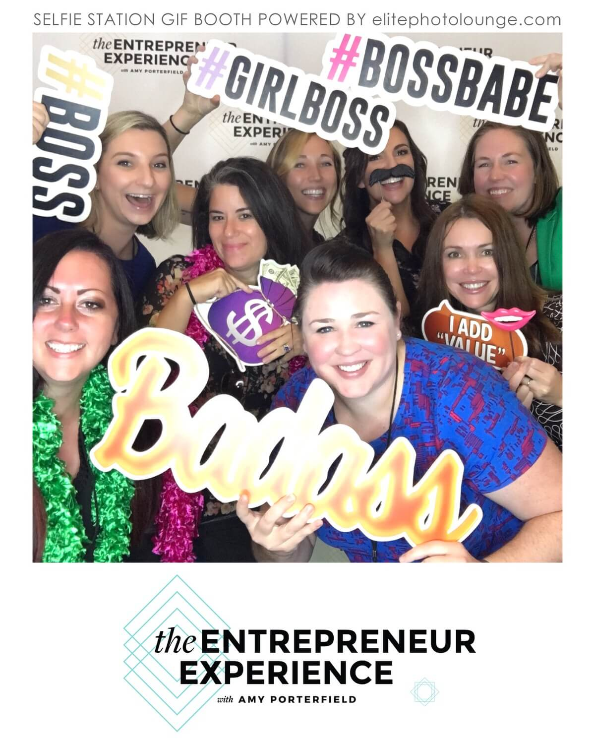 Photo from the Entrepreneur Experience in San Diego! This is the table of awesome ladies I say with, whom I am proud to call my new friends! Oh, and Amy Porterfield in the background.. no big deal!