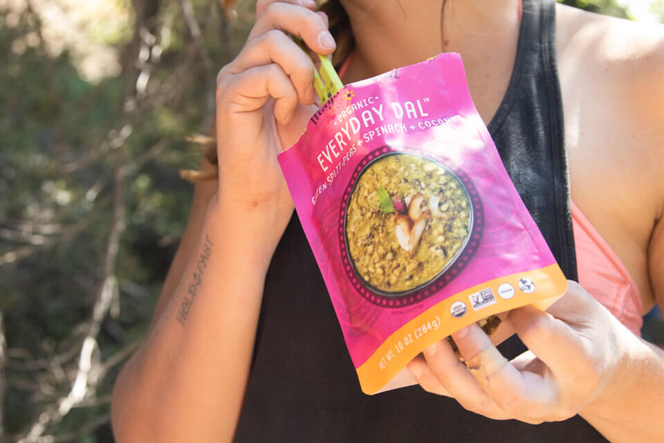 Everyday Dals are the perfect stoveless backpacking meal!