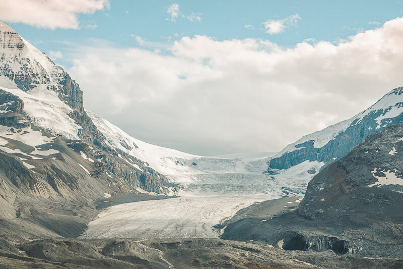 Views from the Athabasca glacier hike.