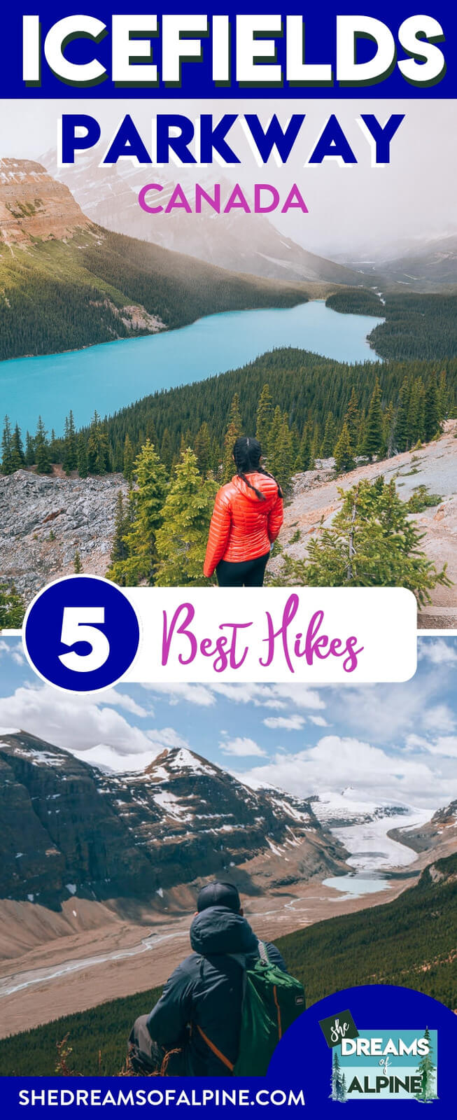 5 Breathtaking Icefields Parkway Hikes