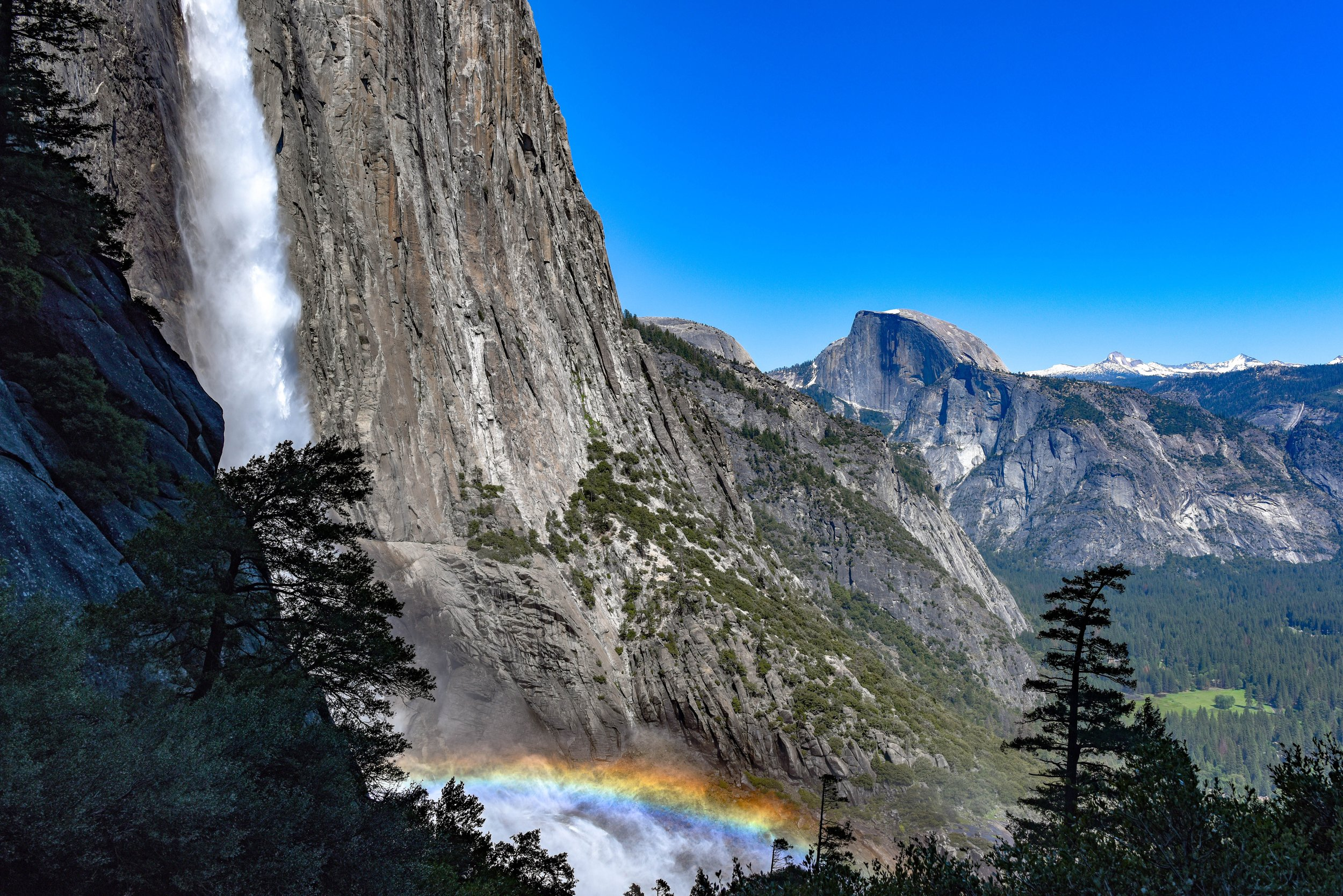 Hiking to the Top of Yosemite Falls is one of the best Yosemite National Park hiking trails.