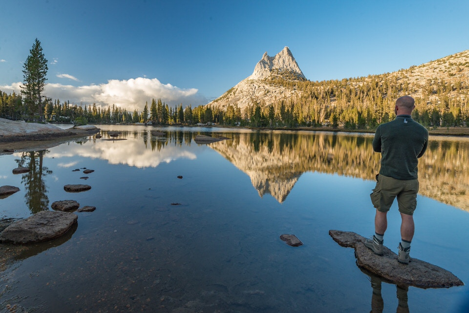 Cathedral Lakes Trail is one of the best hikes in Yosemite due to its views and epic shots of Cathedral Peak.
