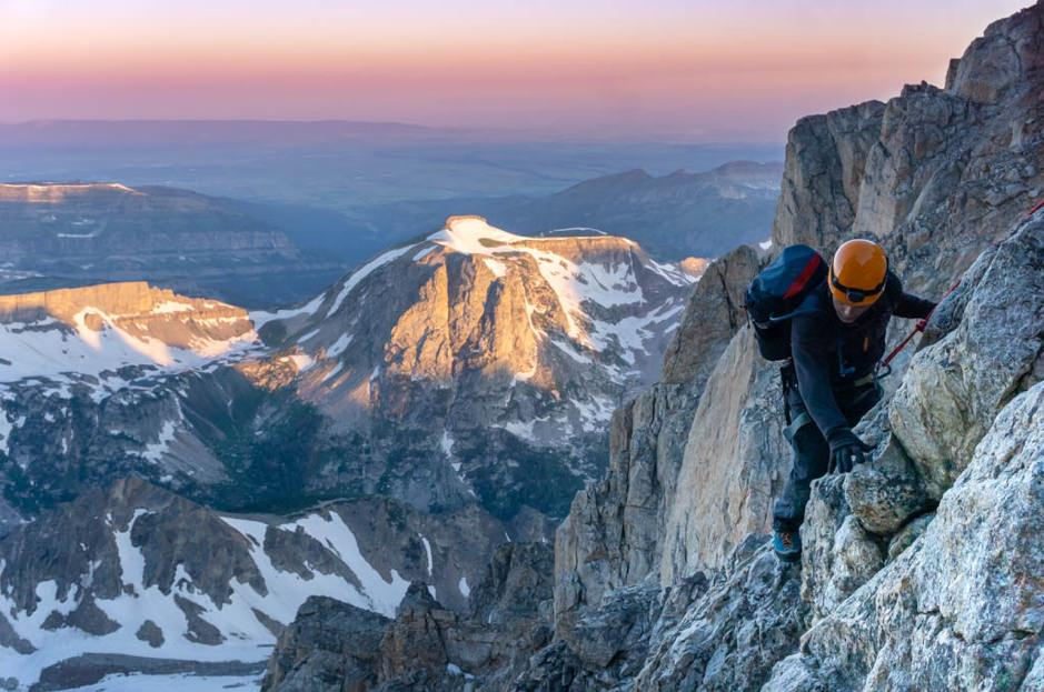 Climbing the Grand Teton for Big City Mountaineers