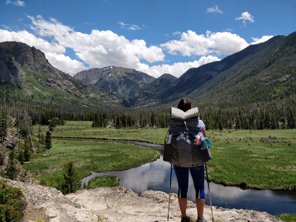 Backpacking the East Inlet Trail in Rocky Mountain National Park, Colorado