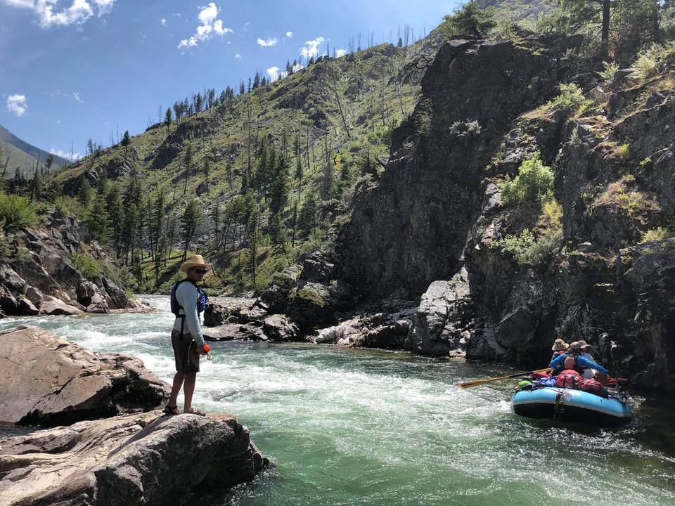 Rafting the Middle Fork of the Salmon, idaho