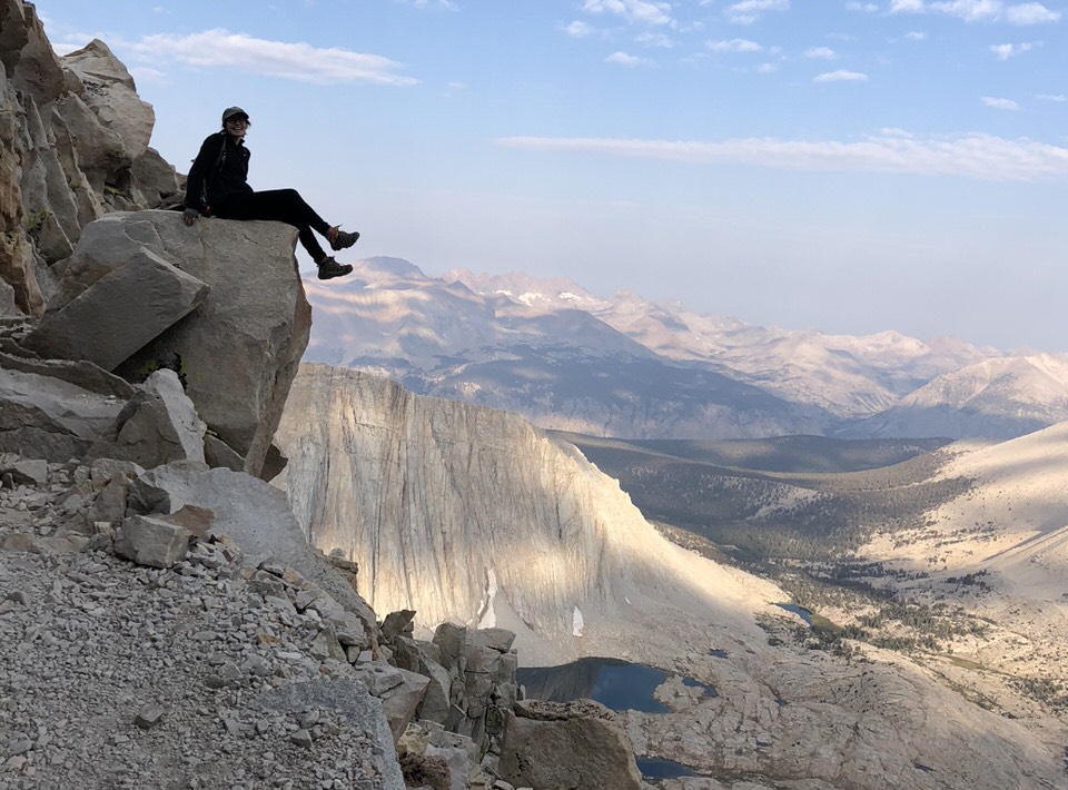 Solo-hiking the JMT.