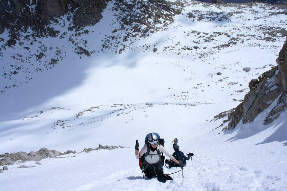 Mountaineering is 80-percent mental