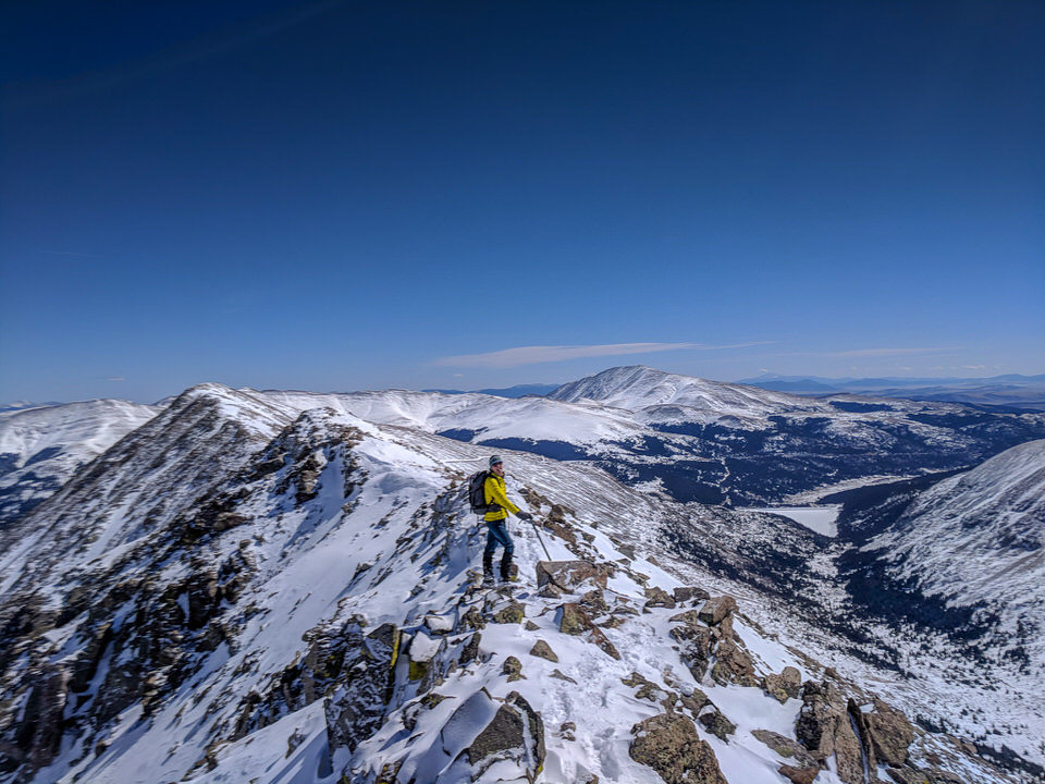 There are many types and variations of mountaineering.
