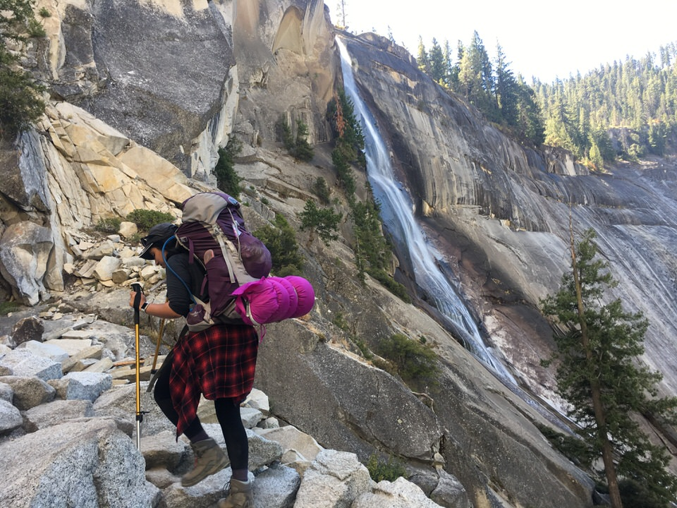 After hiking long miles, staying fresh with key feminine hygiene tips while backpacking is essential!