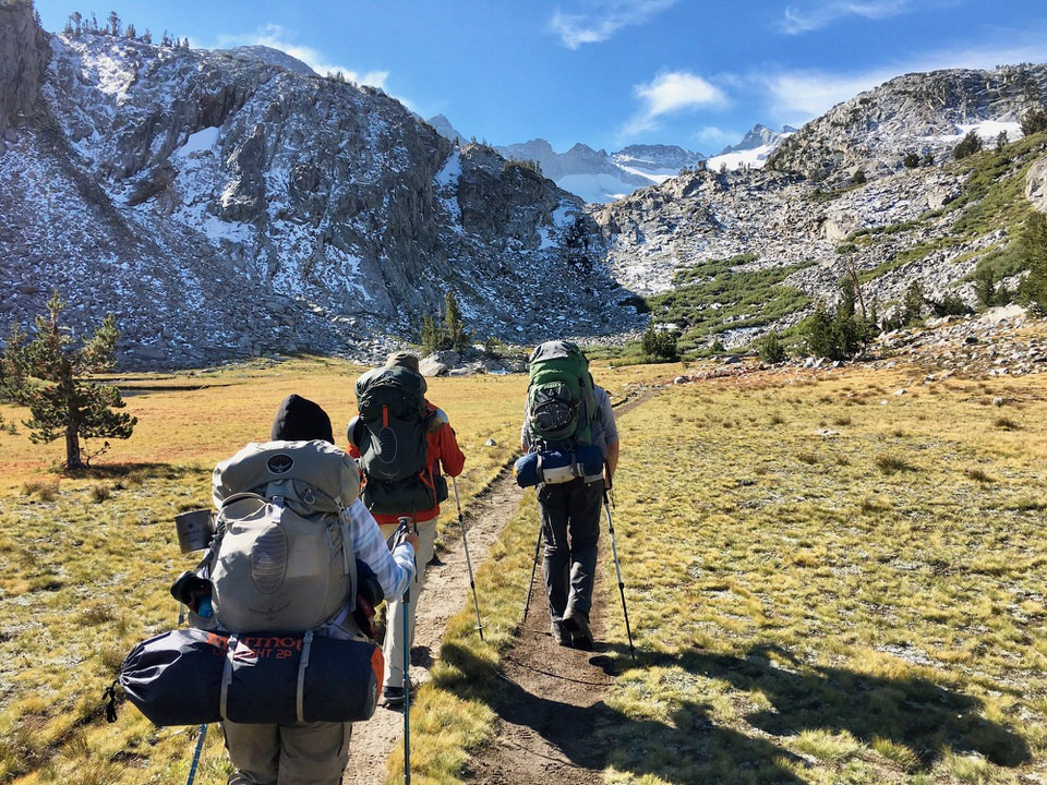 Backpacking Mistake #2: Trying to tackle too many miles