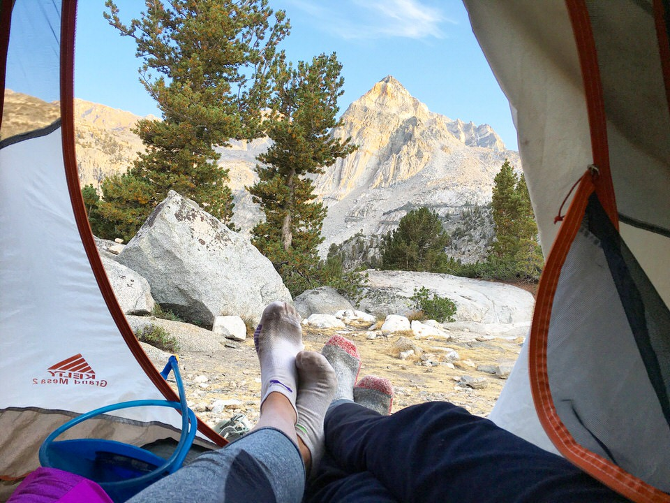 Never sleep with smelly products when you are backpacking