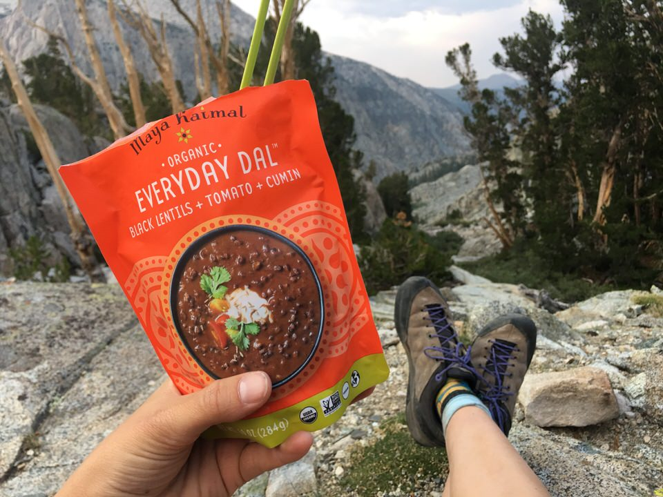 Tips for beginner backpackers: Don't pack too much (or too little) food