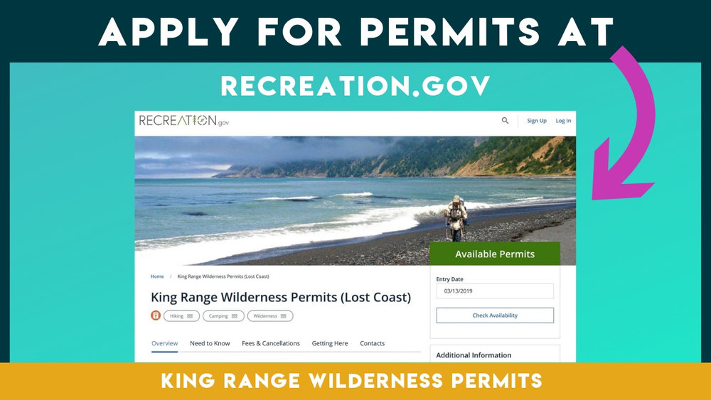 How to get a Lost Coast backpacking permit