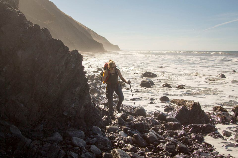 Plan your hike accordingly on the Lost Coast Trail so that you avoid high tides.