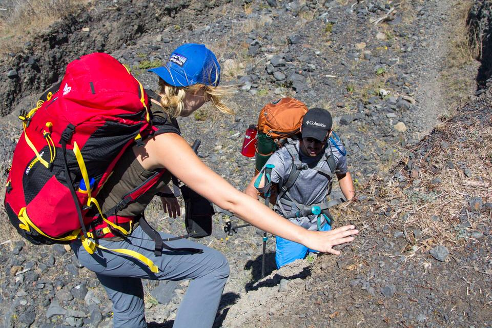 Portions of the Lost Coast Trail may involve a bit of rock scrambling.