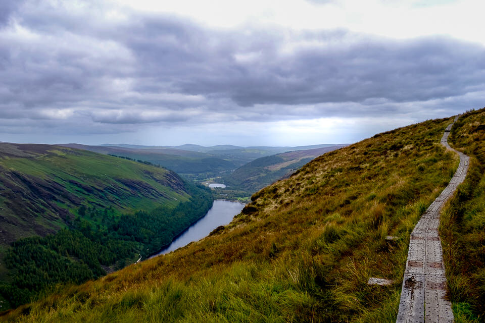 Backpacking the Wicklow Way makes a great thru hike backpacking trip for beginners.