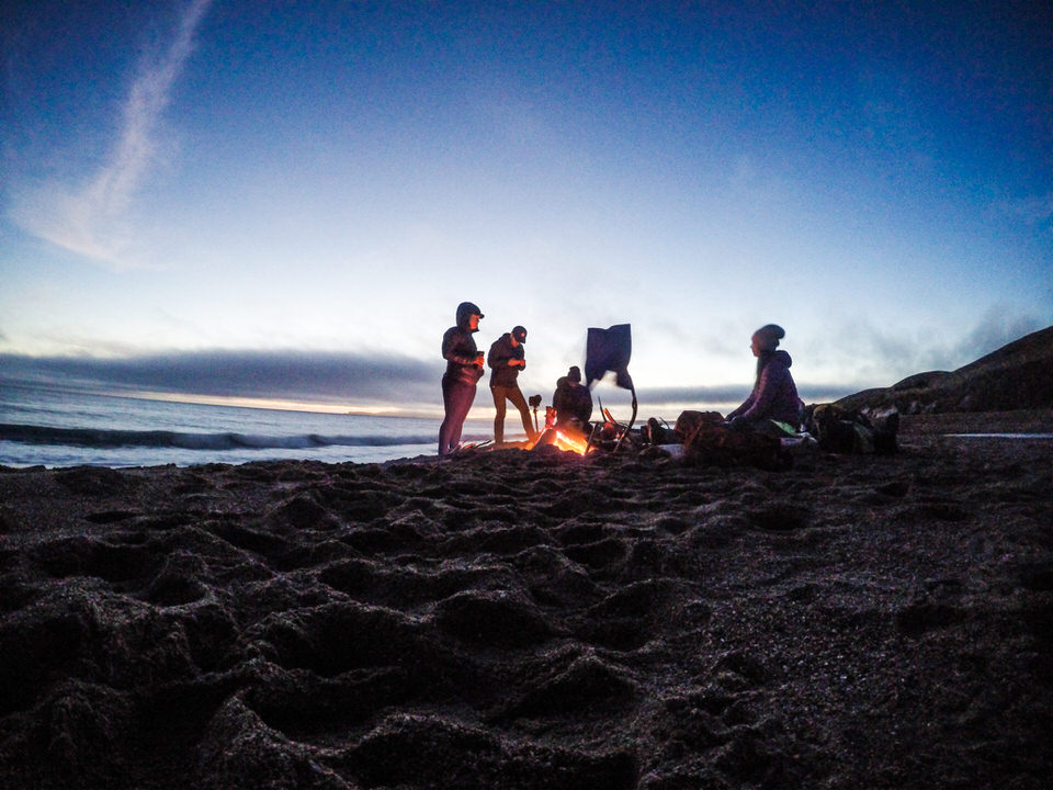 The Coast Camp backpacking trip gives you a unique backpacking experience without having to feel overly committed.